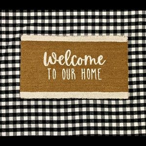 Welcome to our home Coir Mat